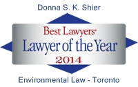 Logo - 2014 Best Lawyers Donna Shier Lawyer of the Year
