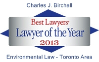 Logo - 2013 Best Lawyers Chuck Birchall Lawyer of the Year